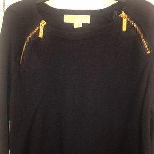 Michael Kors sweater- navy blue